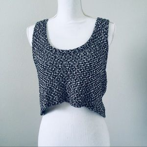 BCBGeneration Cropped Tank Top